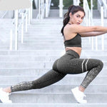 Fitness Leggings Patchwork Push Up Female - Nik Boutique