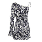 floral print female short jumpsuit - Nik Boutique