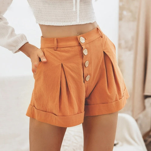 shorts High waist female hot shorts - Nik Boutique