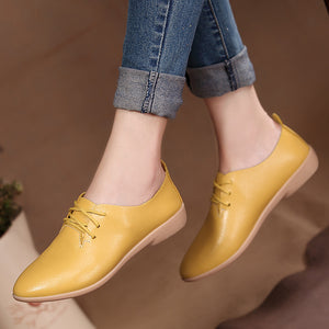 Women flats single oxford shoes - Nik Boutique