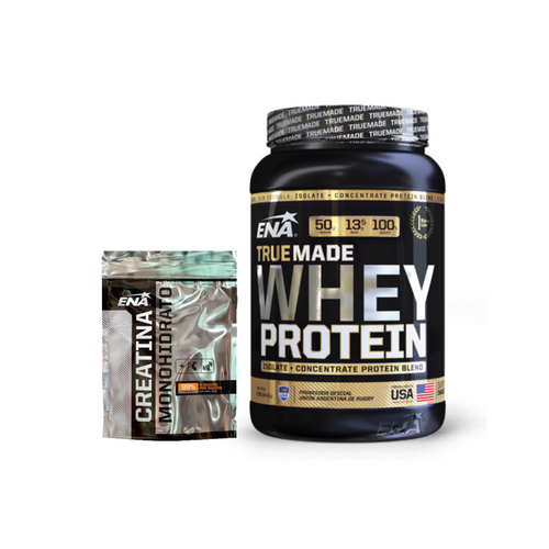 True Made Whey Protein 1kg + Creatina 300grs