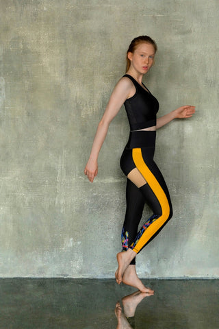 Yellow and Black Set