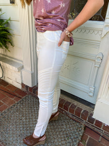 "SALE - ""Ribbed Spandex Skinny"" pants"