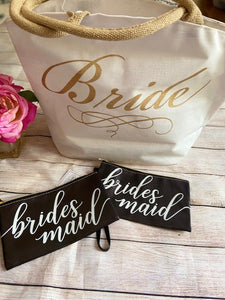 "SALE - ""Calling all Brides"" Tote bag"