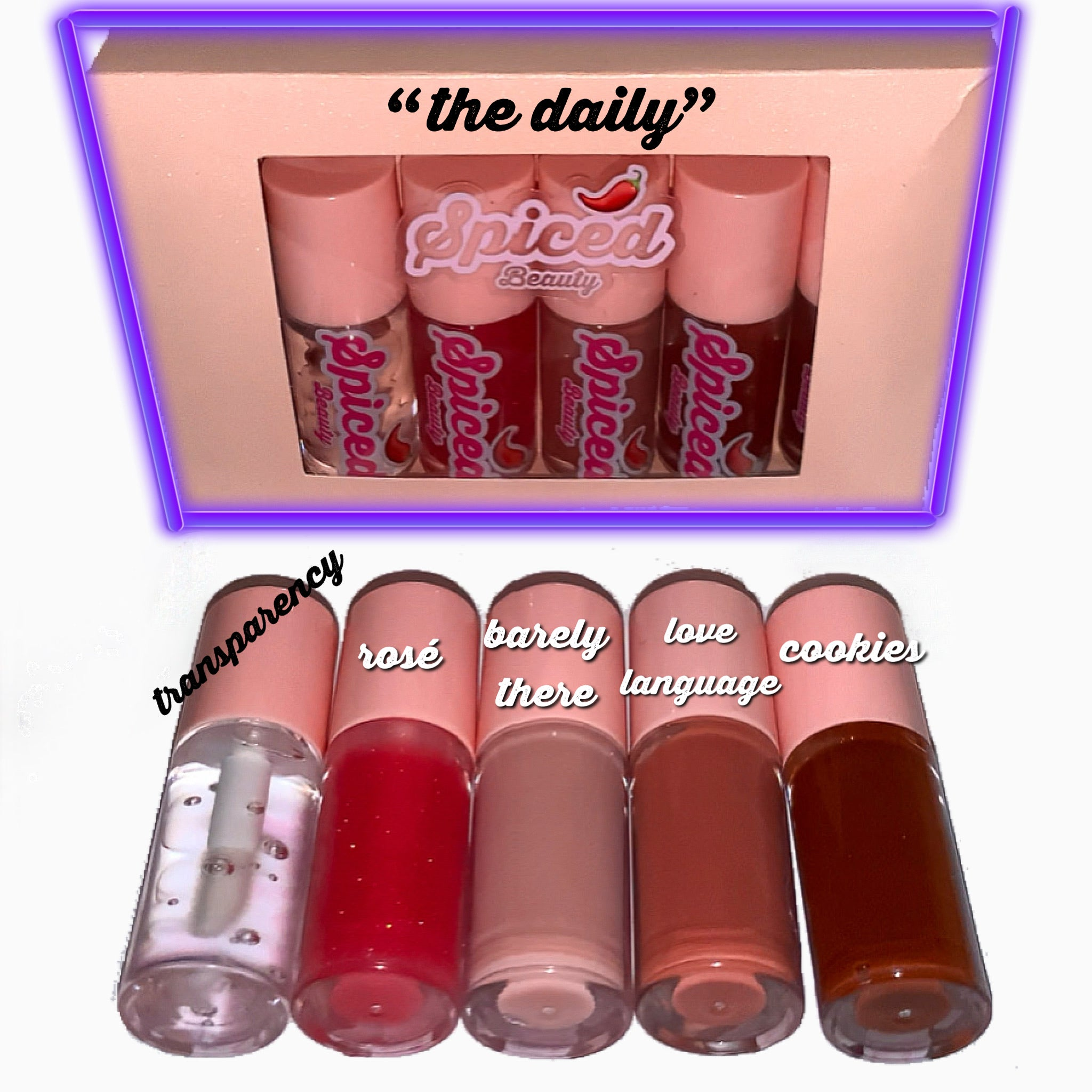 mini lipgloss bundle