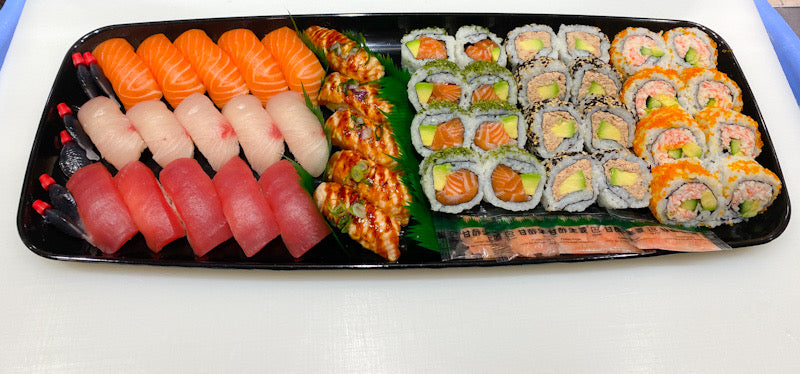 Mixed Sushi Platter - Large (114 Piece)