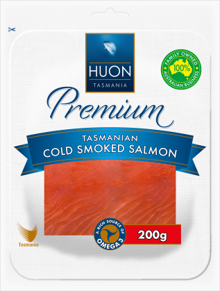 Smoked Salmon Huon - 200gm