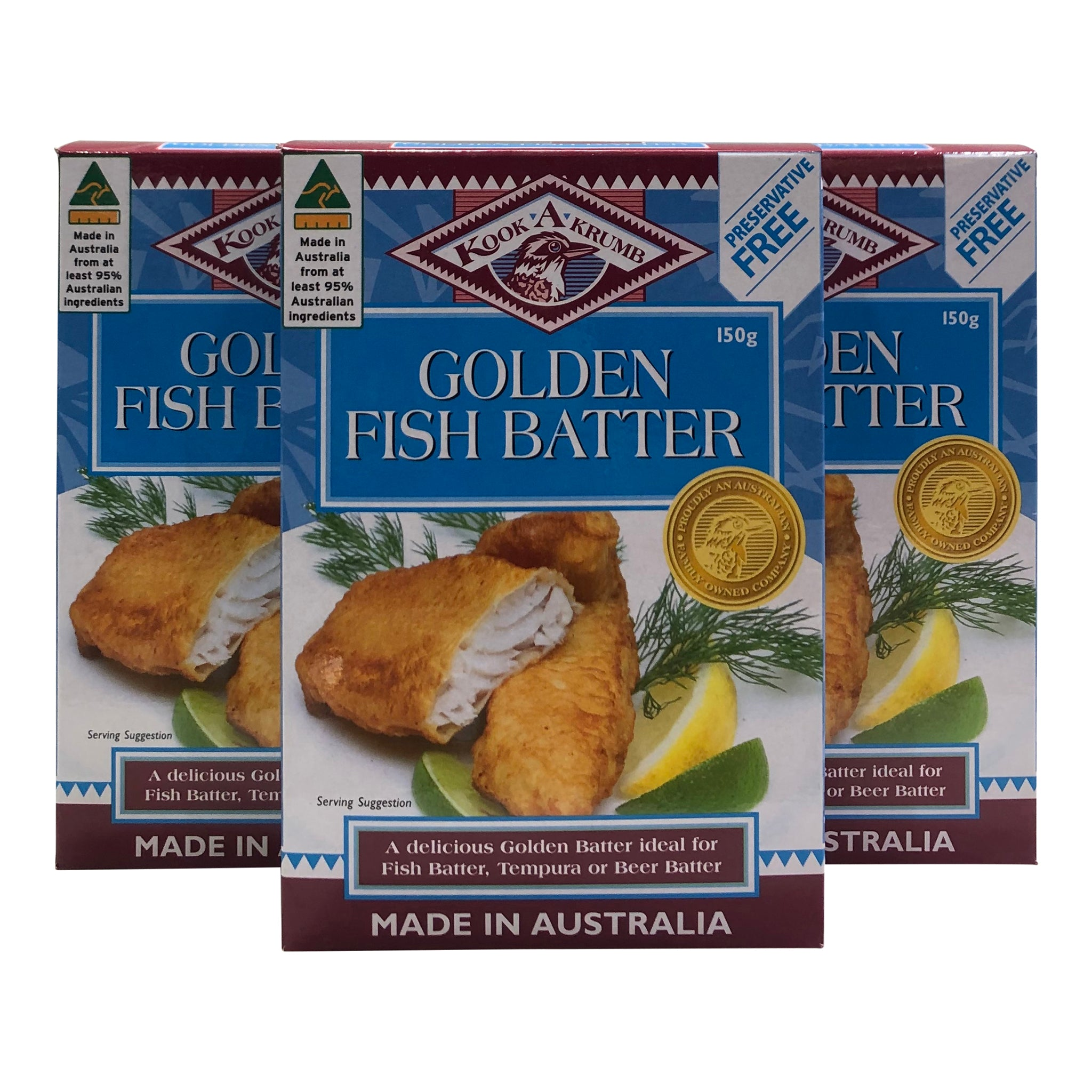 Golden Fish Batter