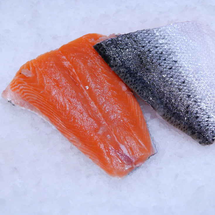 Fresh Atlantic Salmon Tails