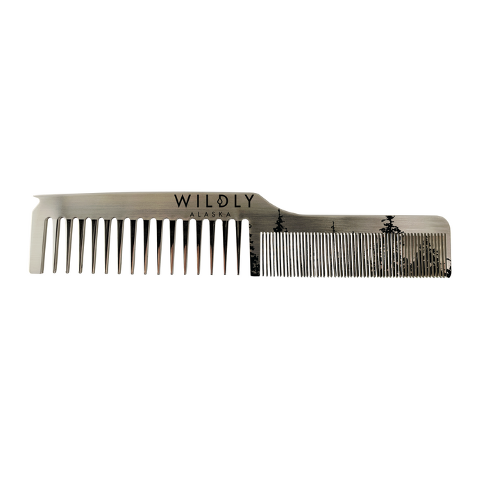 Dual Tooth Stainless Comb Parting Tip - Wildly Alaska