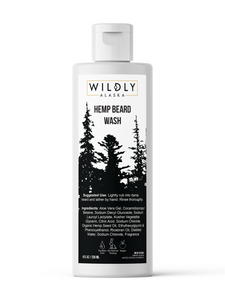 Aloe + Hemp Beard Wash - Wildly Alaska