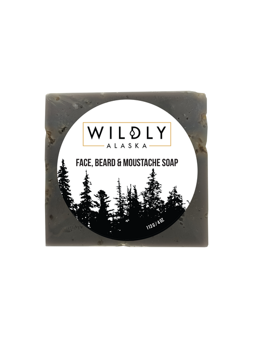 Face, Beard & Moustache Soap - Wildly Alaska