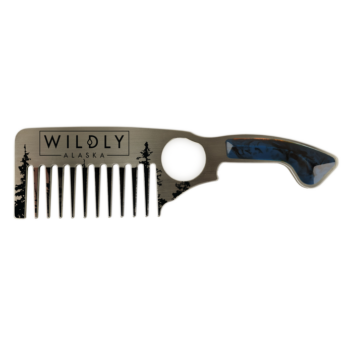 Beard Comb - Wildly Alaska