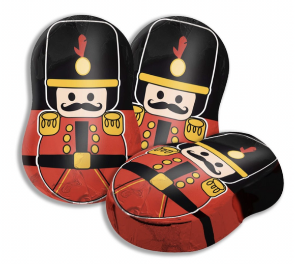 Nutcracker filled chocolate