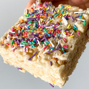 Birthday Cake Rice Crispy