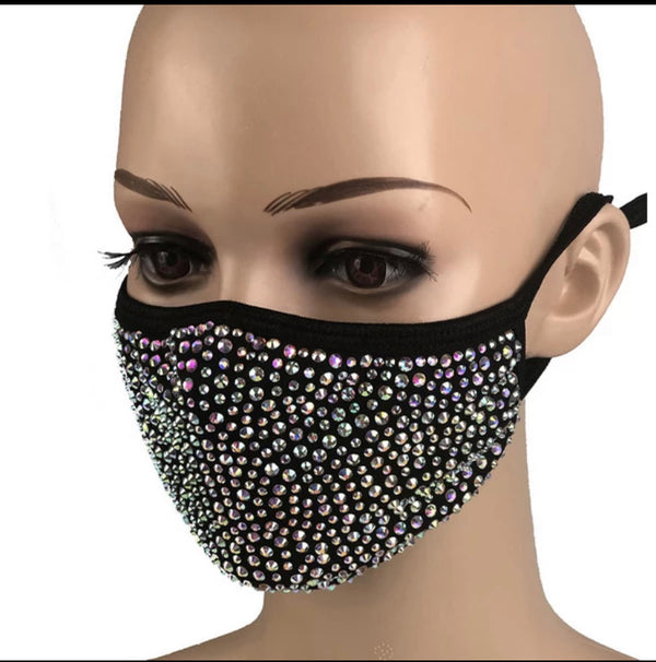 WHOLESALE 12 Bling Masks