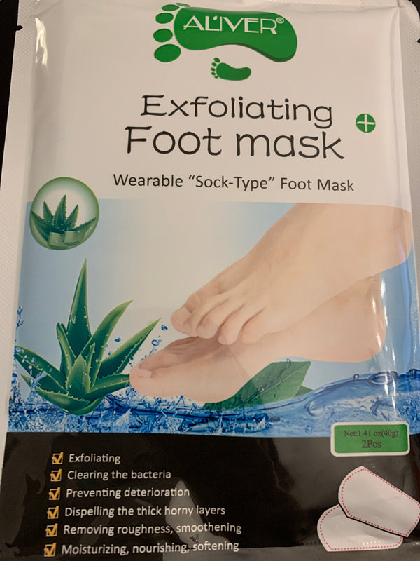 Exfoliating Foot Peel Mask (10 packs)