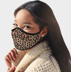3 Faux Fur Fashion Face Mask (3 Colors)