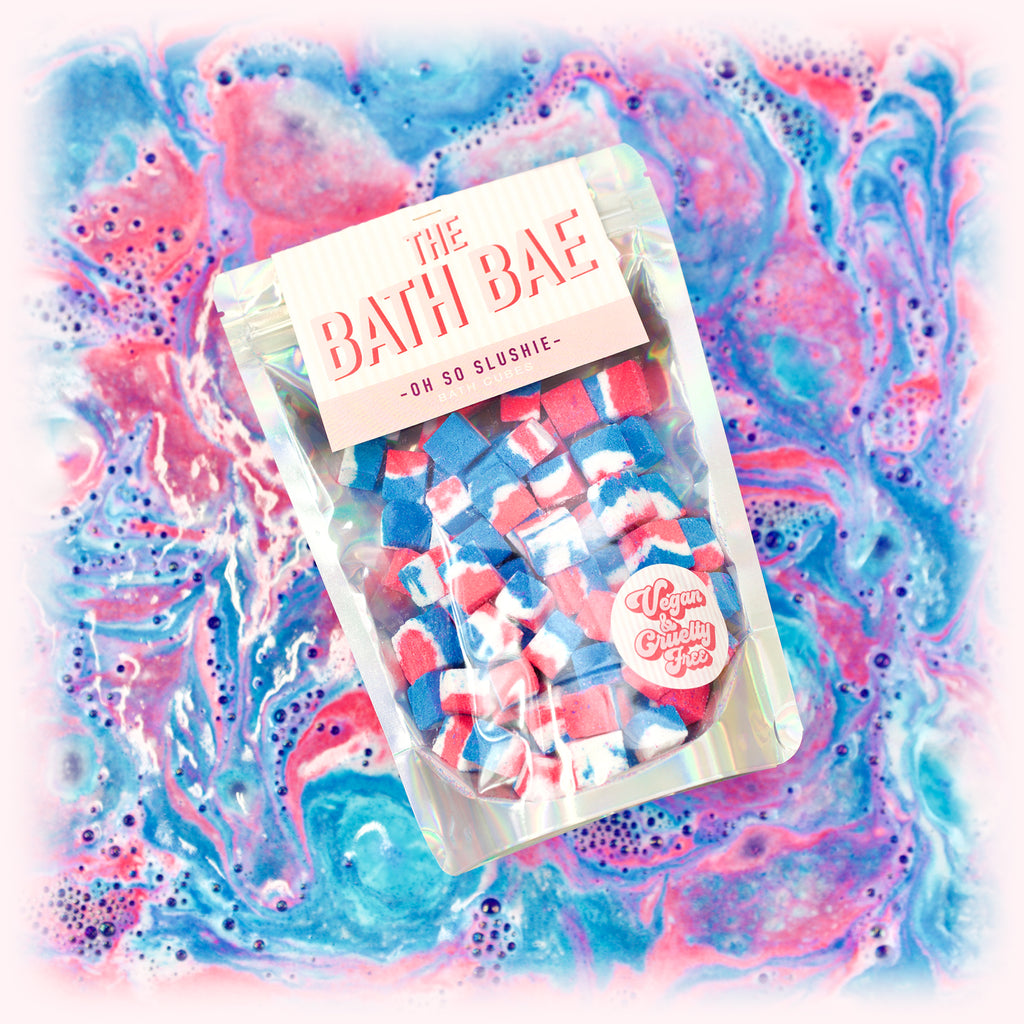 The Bath Bae Oh So Slushie Bath Bomb Cubes Bath Art
