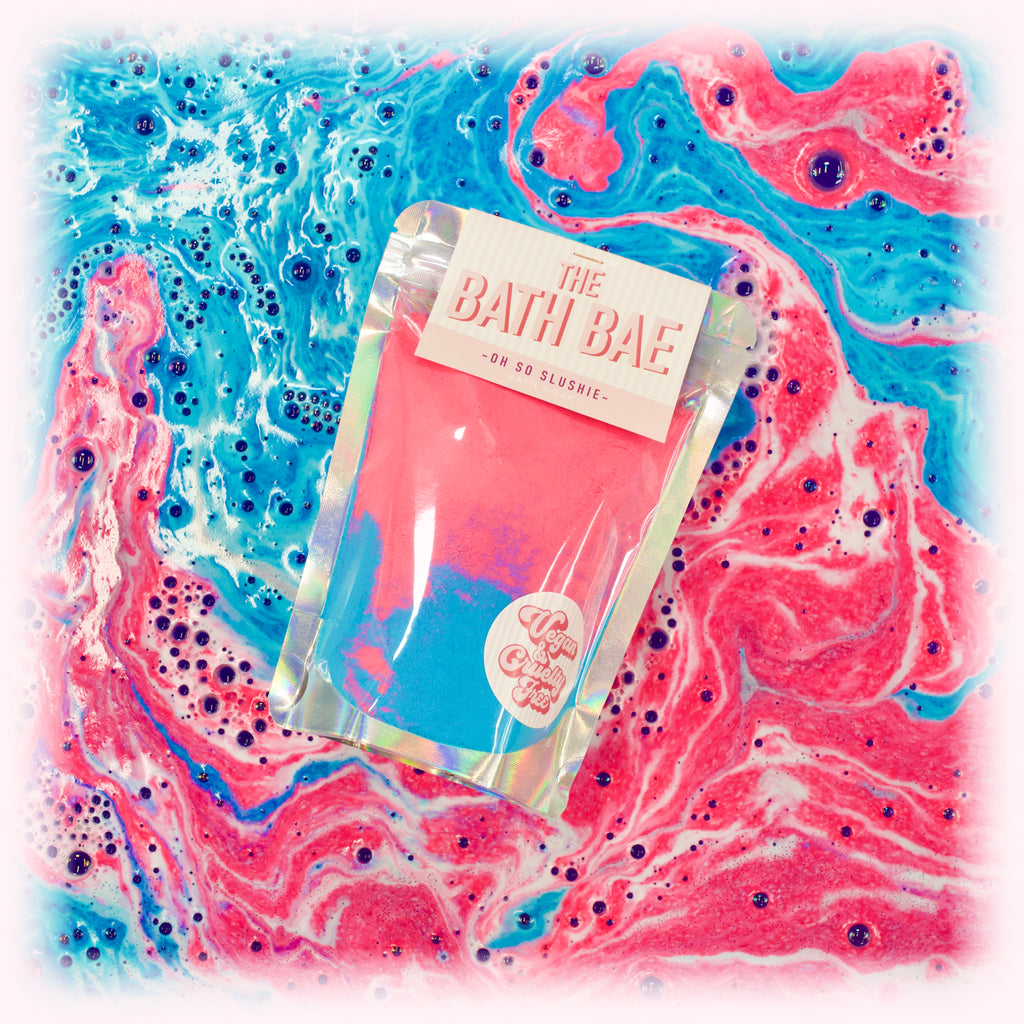 The Bath Bae Oh So Slushie Bath Bomb Soak Dust
