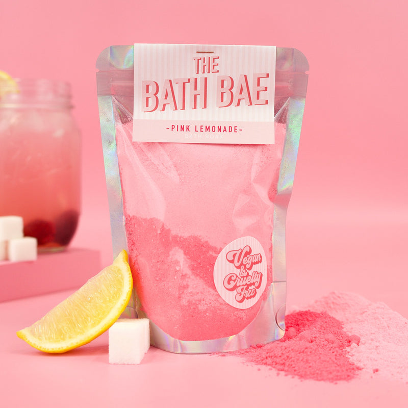 The Bath Bae Pink Lemonade Bath Bomb Soak Dust Bath