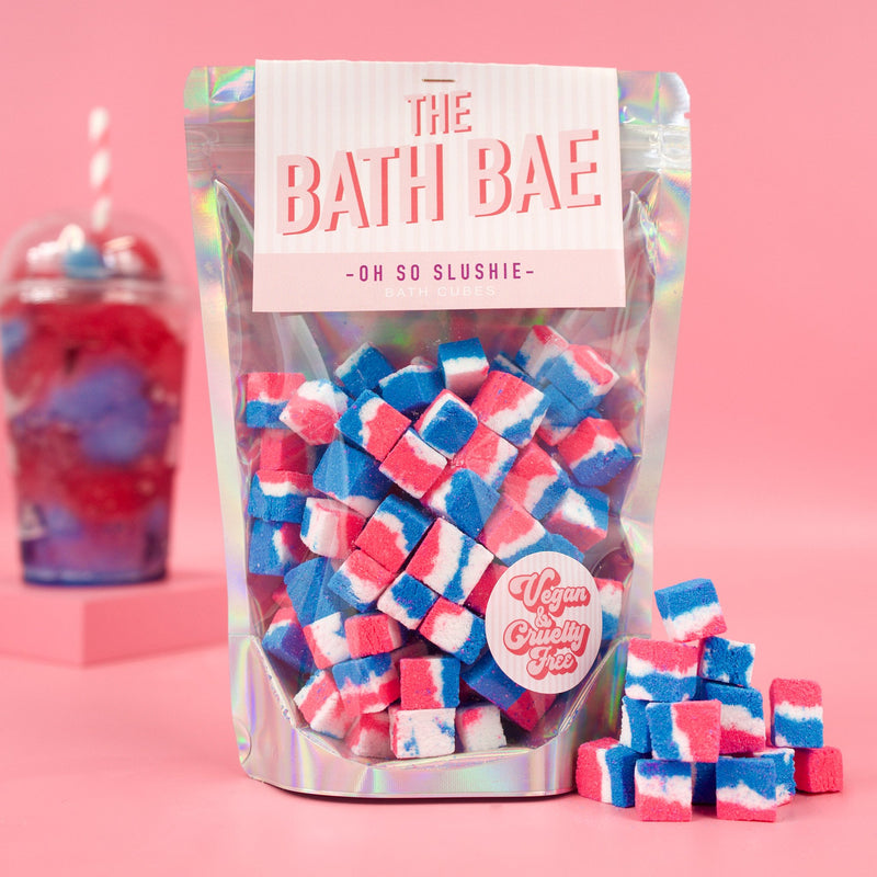 The Bath Bae Oh So Slushie Bath Bomb Cubes