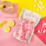 The Bath Bae Pink Lemonade Bath Bomb Sparkle Rocks