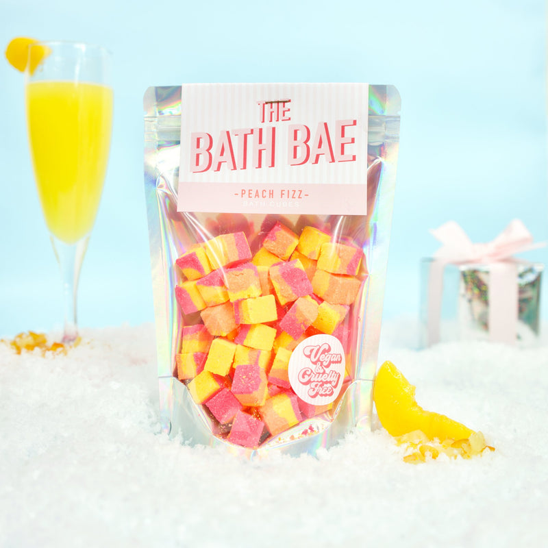Peach Fizz Bath Cubes