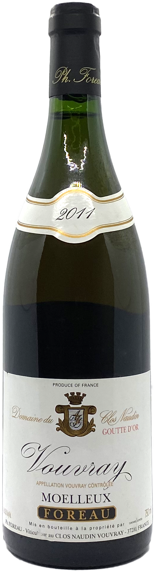 Philippe Foreau Goutte d'Or Vouvray Moelleux 2011