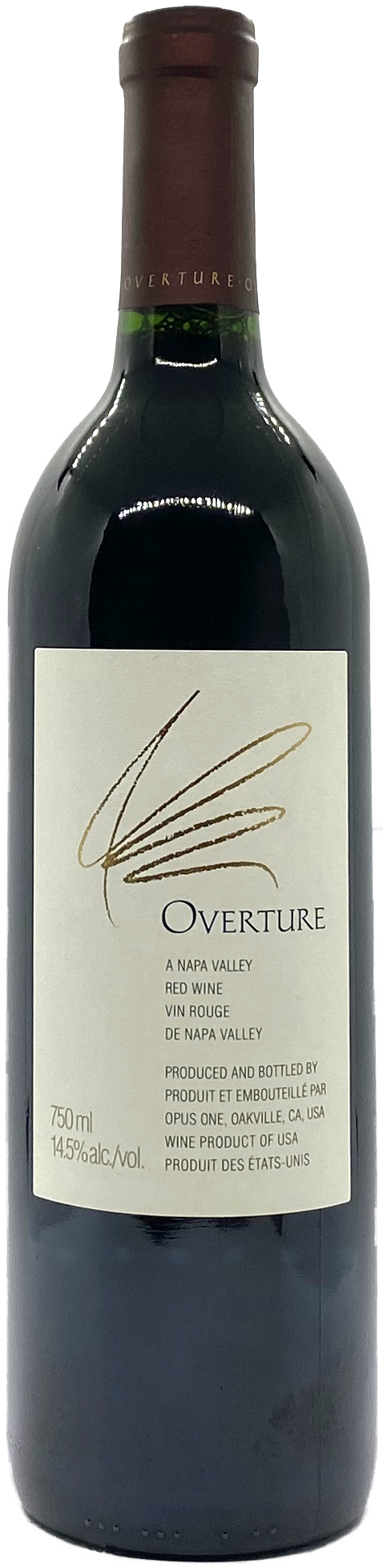 Opus One Cabernet Sauvignon Blend Overture Napa Valley