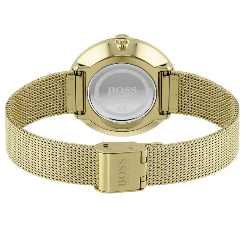 BOSS Watches Praise Yellow Ladies Bracelet Watch 1502547 - Hollins and Hollinshead