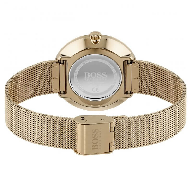 BOSS Watches Praise Rose Ladies Bracelet Watch 1502548 - Hollins and Hollinshead