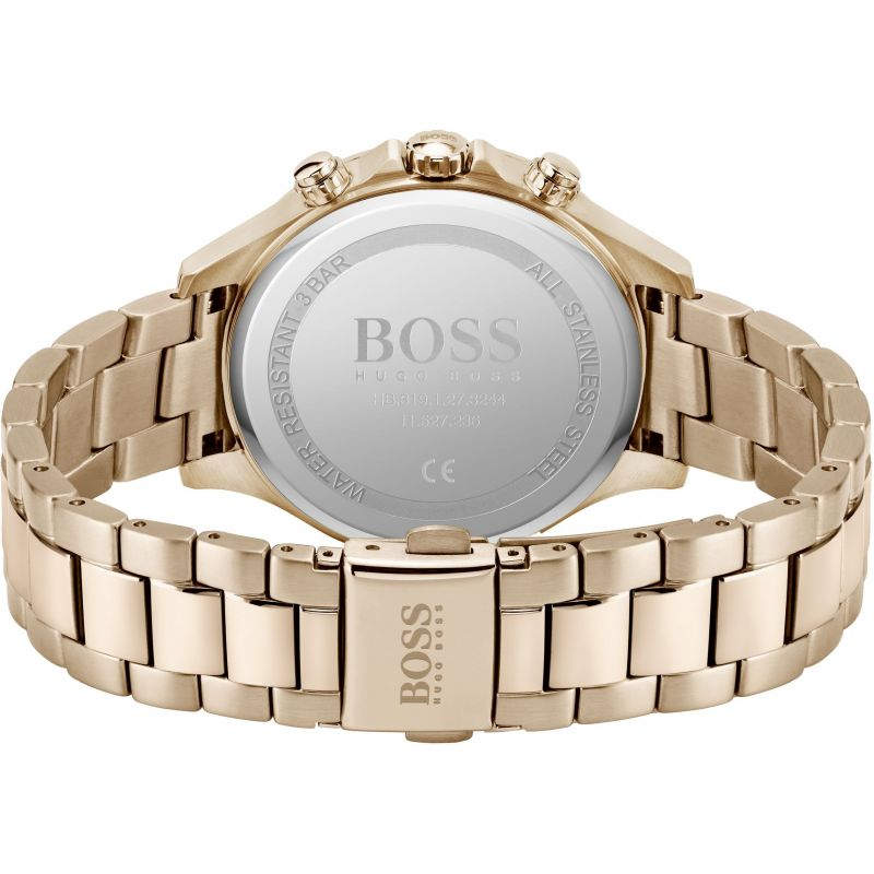 Hugo BOSS Hera Sport Lux Rose Day Date Ladies Watch 1502566 - Hollins and Hollinshead