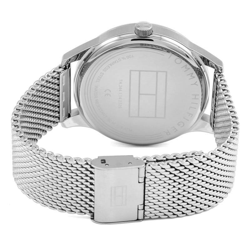 Tommy Hilfiger Damon Steel Mesh Bracelet Mens Watch 1791415 - Hollins and Hollinshead