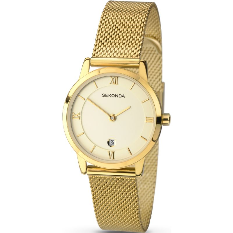 Sekonda Ladies Milanese Bracelet Watch 2103 - Hollins and Hollinshead