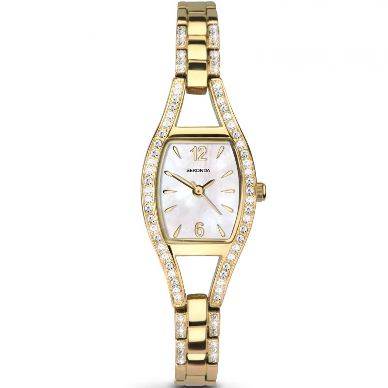 Sekonda Ladies Yellow Gold Plated Watch 2392 - Hollins and Hollinshead