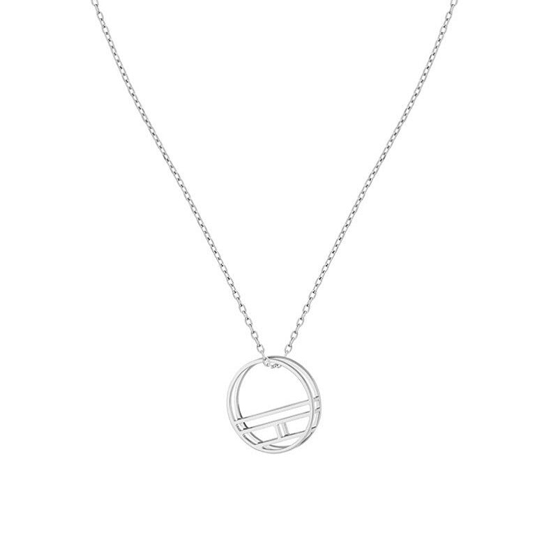 Tommy Hilfiger Casual Rhodium Ladies Flag Necklace 2780323 - Hollins and Hollinshead