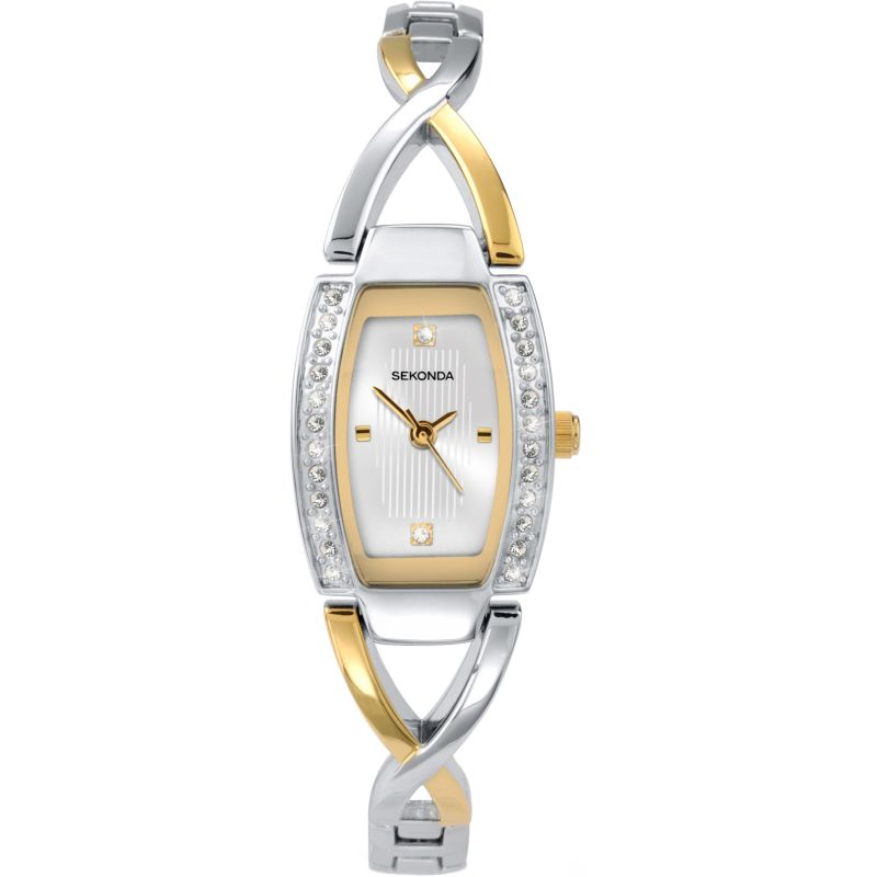 Sekonda Two-Tone Ladies Watch 4605