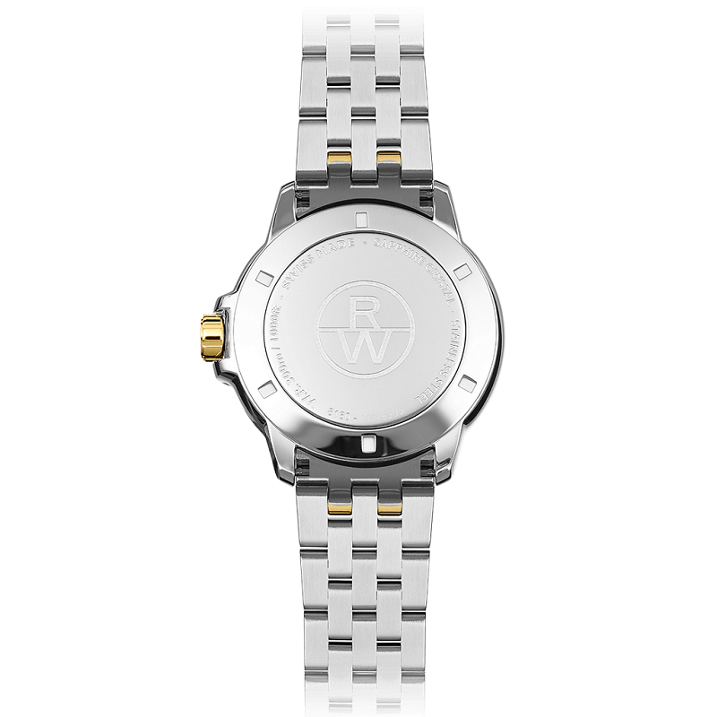 Raymond Weil Tango Two Tone Mens Watch 8160-STP-00308 - Hollins and Hollinshead