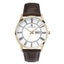 Accurist Day Date Leather Strap Mens Watch 7237 - Hollins and Hollinshead