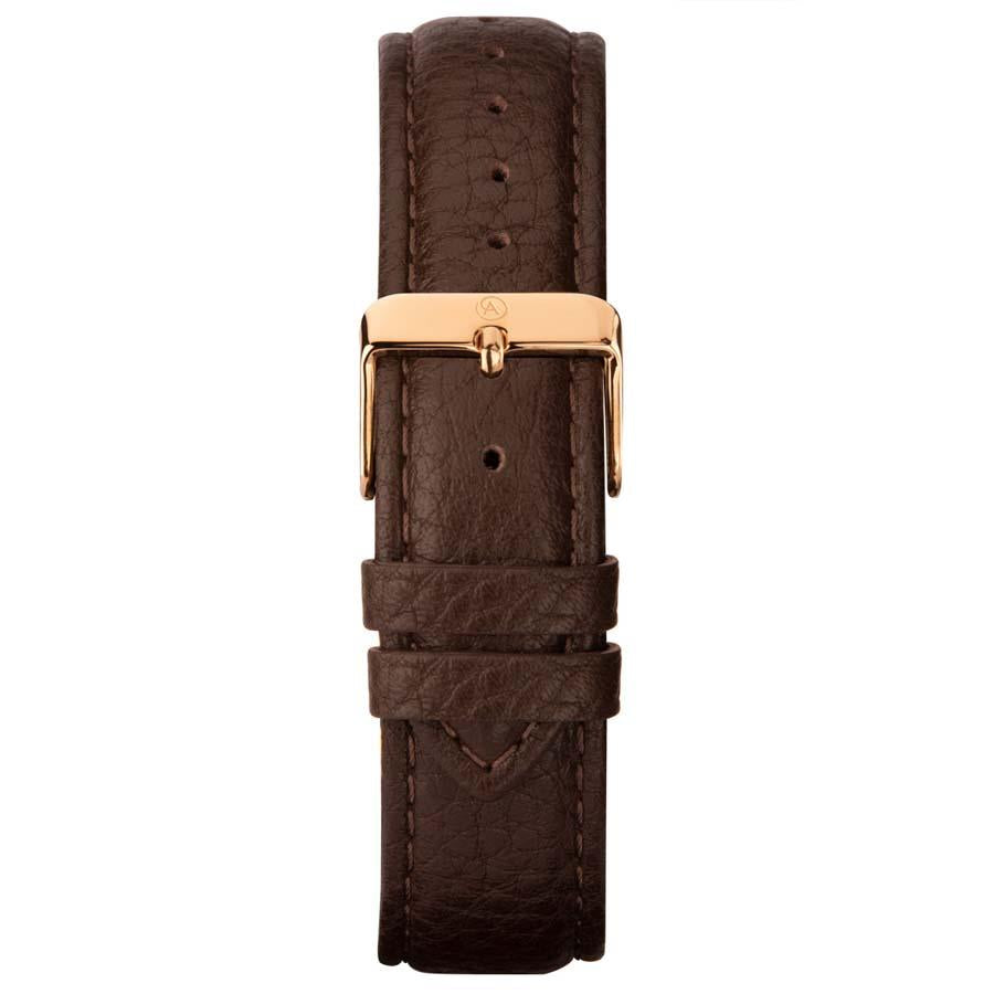 Accurist Brown Leather Strap Mens Watch 7336 - Hollins and Hollinshead