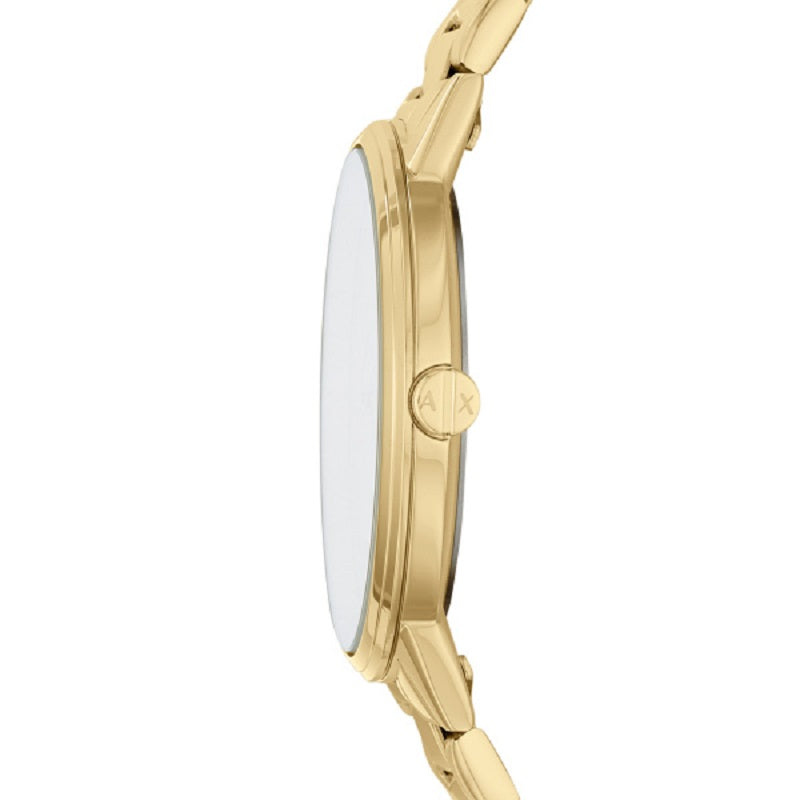Armani Exchange Cayde Gold Plated Mens Watch AX2707 - Hollins and Hollinshead