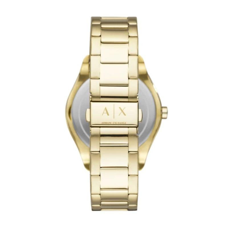 Armani Exchange Fitz Gold Plated Mens Watch AX2801 - Hollins and Hollinshead