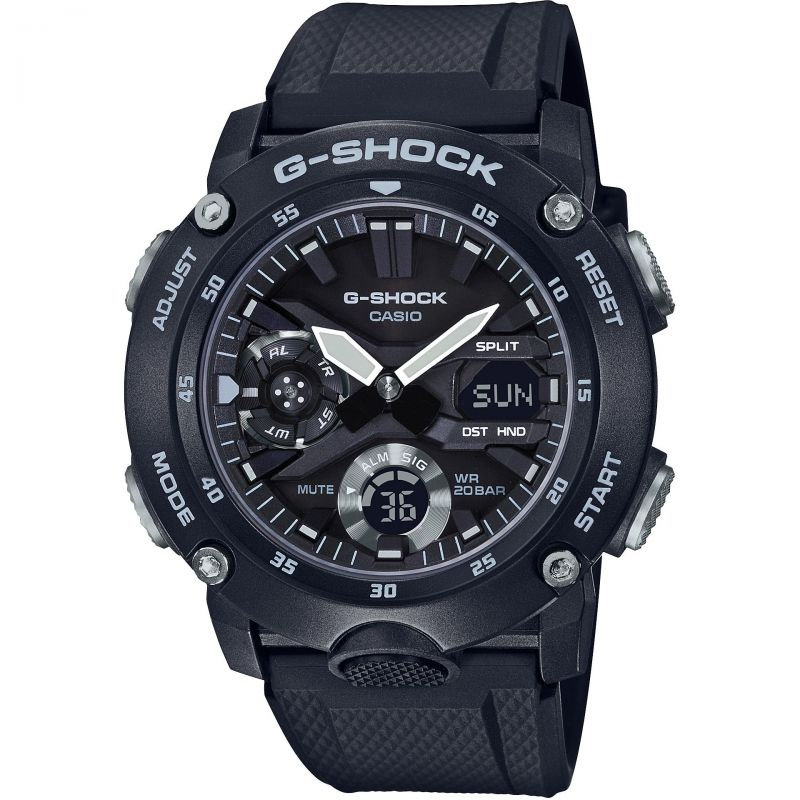 Casio G-Shock Carbon Guard Men's Watch GA-2000S-1AER - Hollins and Hollinshead