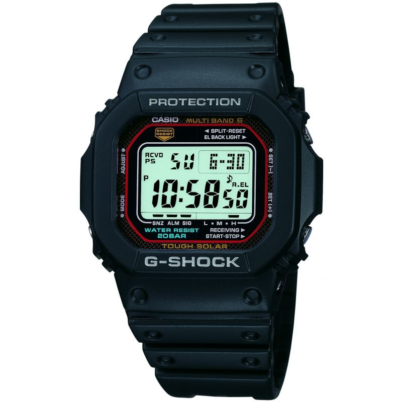 Casio G Shock Wave Ceptor Solar Men's Watch GW-M5610-1ER - Hollins and Hollinshead