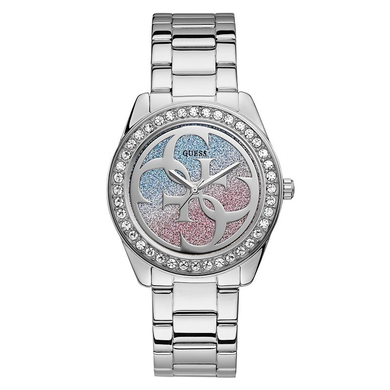 Guess G Twist Stainless Steel Ladies Watch W1201L1 - Hollins and Hollinshead