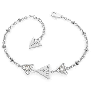 Guess Queen of Heart Triple Triangles Bracelet UBB79015-L - Hollins and Hollinshead