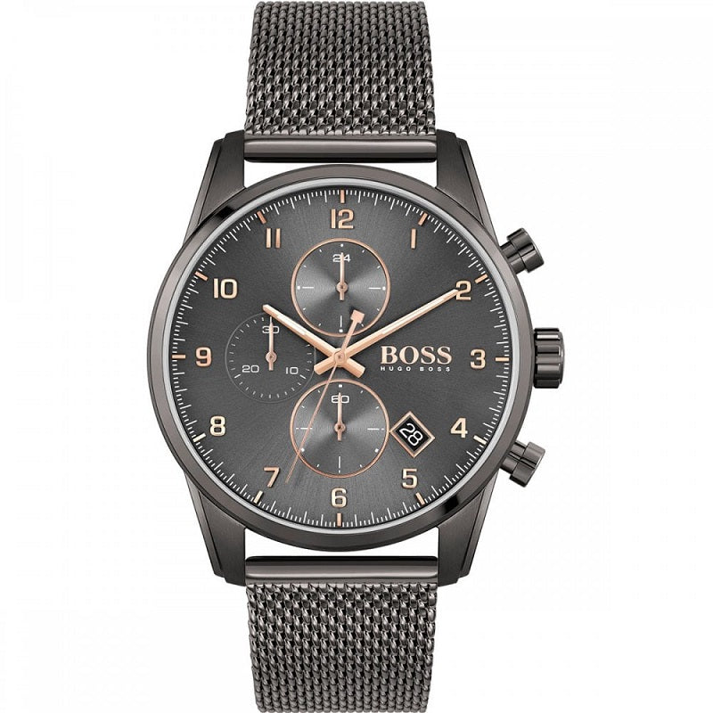 Hugo Boss Mens Watch Skymaster Chronograph 1513837 - Hollins and Hollinshead