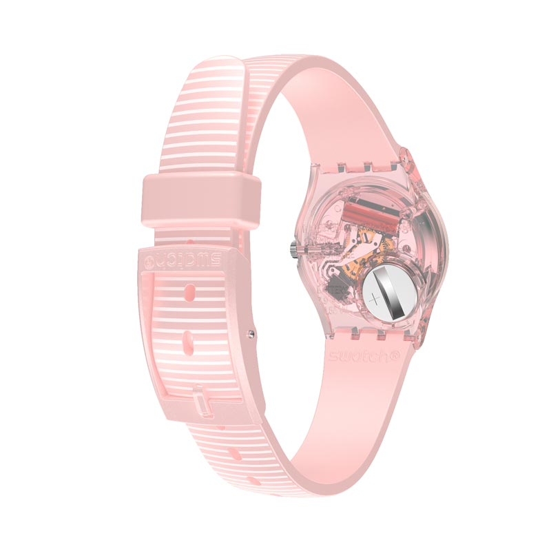 Swatch Blush Kissed Ladies Watch LP161 - Hollins and Hollinshead