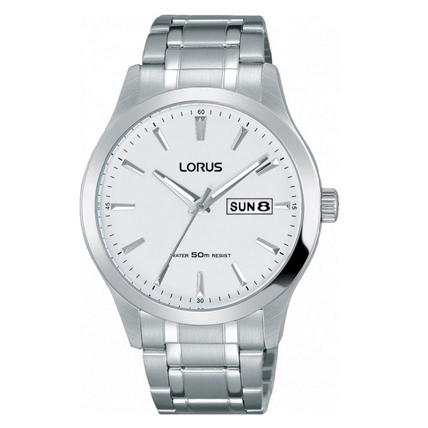 Lorus Day Date Mens Watch RXN25DX9 - Hollins and Hollinshead